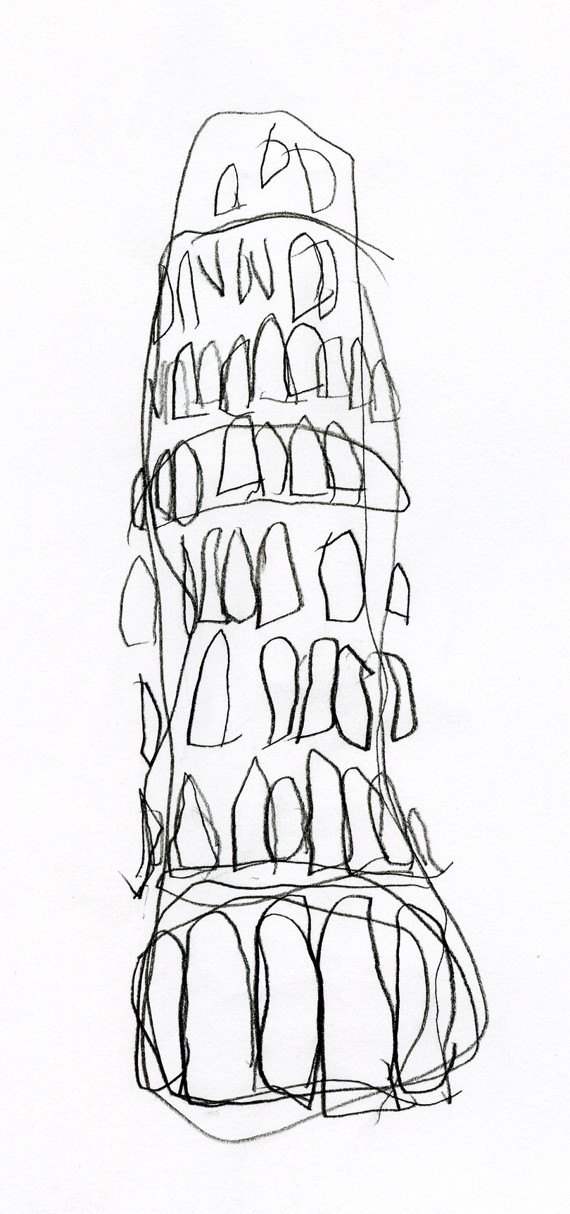 Torre di Pisa (From Signs series) by Michele Giangrande at Snark.art