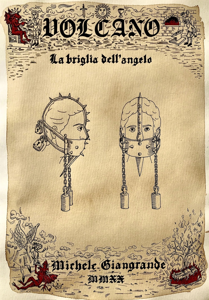 La briglia dell'angelo (From Volcano series) by Michele Giangrande at Snark.art