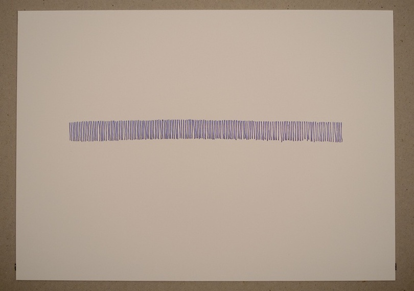 Untitled Sound Drawing from The Audiovisual Archive) by Volkmar Klien at Snark.art