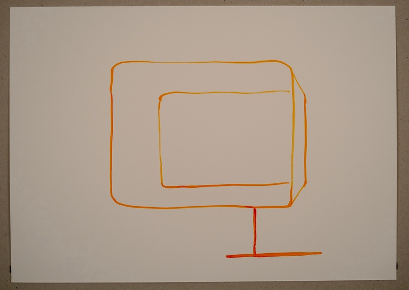 Untitled Sound Drawing from The Audiovisual Archive by Volkmar Klien at Snark.art